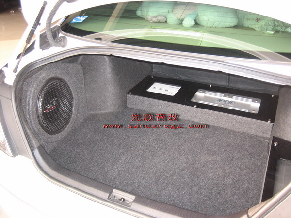 锐志汽车音响低音补形箱